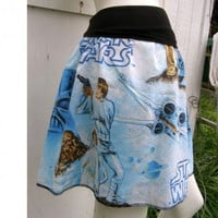 STAR WARS A NEW HOPE Skirt shirt your size Chewbaka w vintage fabric | PoppysWickedGarden - Clothing on ArtFire