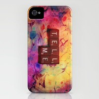 tell me iPhone Case by Sylvia Cook Photography | Society6