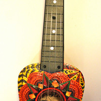 Patterned Ukulele