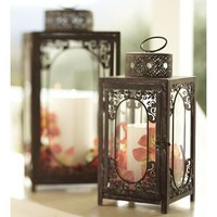 Andros Filigree Lantern | Pottery Barn