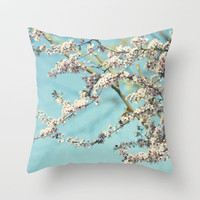 rising up  Throw Pillow by Sylvia Cook Photography