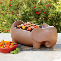 Terracotta Elephant Grill | World Market