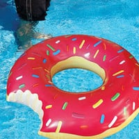 Gigantic Donut Pool Float | Donut Inner Tube | fredflare.com