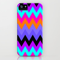 Zigzag #9 iPhone & iPod Case by Ornaart