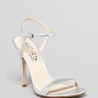 KORS Michael Kors Sandals - Mikaela High Heel | Bloomingdale's