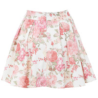 Floral Print Skater Skirt - Miss Selfridge