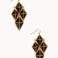 Geo Chandelier Earrings | FOREVER 21 - 1076098241