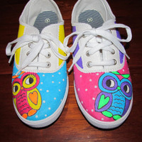 Owls in Love by TheShoeFly on Etsy
