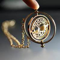18K Harry Potter Jewelry Hermione Granger Time Turner by LuckyJuan