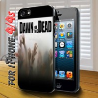 Dawn of the dead Black Case for iphone 4 / 4s