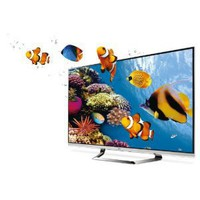 LG Cinema Screen 55LM7600 55-Inch Cinema 3D 1080p 240 Hz LED-LCD HDTV with Smart TV and Six Pairs of 3D Glasses
