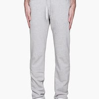 Diesel Heather Grey Braddom-swe Lounge Pants for men | SSENSE