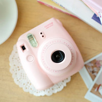 Fujifilm Instax Mini 8 Pink Film Camera Polaroid Analog Photo