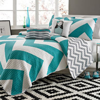 Cadiz 4-Piece Twin/Twin XL Quilt Set