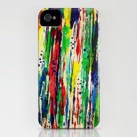 Disjointed Stripes iPhone Case by Sandra Arduini | Society6