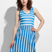 Marnie Striped Tank Dress