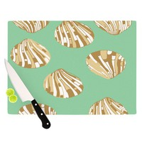 "Rosie Brown ""Scallop Shells"" Cutting Board 
