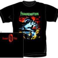 Hammer Horror Frankenstein T-Shirt - The Curse Of Frankenstein