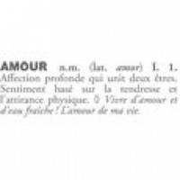 ADZif Blabla Amour (French) Wall Decal - T3115-FR - All Wall Art - Wall Art & Coverings - Decor