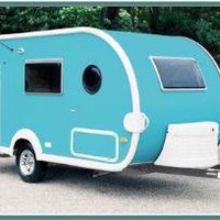T@DA Trailer in Aqua   Texas RV Travel blog