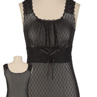 Mesh and Lace Tank - maurices.com