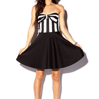 Scuba Knit Bow Dress