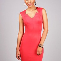 Starflash Bodycon Dress | Dresses at Pink Ice