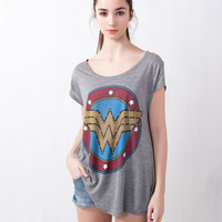 WONDER WOMAN HEROES TOP - T-SHIRTS AND TOPS - WOMAN -  United Kingdom