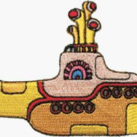 Amazon.com: The Beatles Yellow Sub Submarine Embroidered iron on Patch: Home & Kitchen