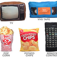 Movie Night Accent Pillows - Remote Control