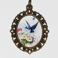 Swallow Daisies Necklace