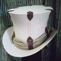 The Steamer - Top Hat | GypsyLadyHats - Accessories on ArtFire