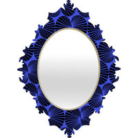 DENY Designs Home Accessories | Randi Antonsen Dove 3 Baroque Mirror