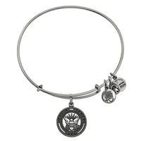 Alex and Ani U.S. Navy Charm Bangle - Russian Silver