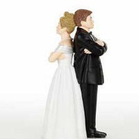 Comical Wedding Cake Toppers - Humorous Cake Toppers