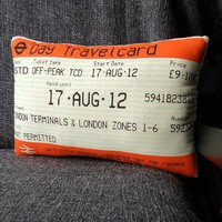 Ticket Pillow