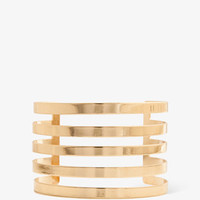 Cutout Stripes Cuff