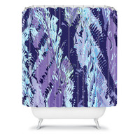 DENY Designs Home Accessories | Rosie Brown Amethyst Ferns Shower Curtain