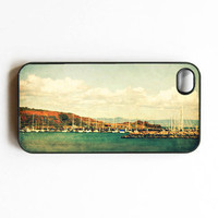 Iphone Case Vintage Harbor Nautical Vintage by SSCphotographycases