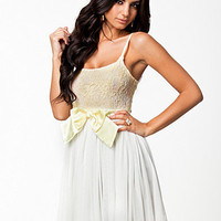 Pleated Bow Dress, Club L
