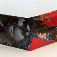 Comic Book Wallet// Batman