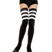 Leg Avenue Athletic Sock Thigh Highs 
