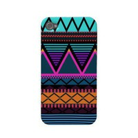 Neon 2 Modern Tribal iPhone 4/4S Case-Mate Case-mate Iphone 4 Cases from Zazzle.com