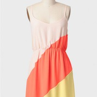 City Lights Colorblocked Dress
