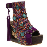 Amazon.com: Irregular Choice Women's Woodsock Wedge Sandal: Shoes