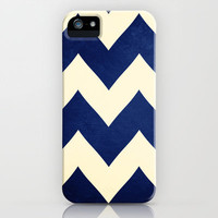 Fleet Week - Navy Chevron iPhone & iPod Case by CMcDonald