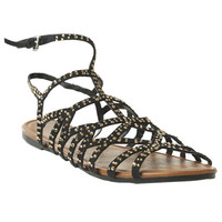 Embellished Gladiator Sandal | Shop Shoes at Wet Seal