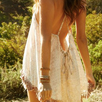 Eternal Sunshine Creations Paradise camisole in sand