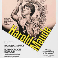 Howard & Maude Movie Poster 27x40 Bud Cort Ruth Gordon   Cat Stevens RARE OOP