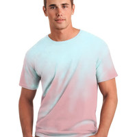 Global Technacolour Pink to Blue NEW Style MODERN FIT Hypercolor t-shirt